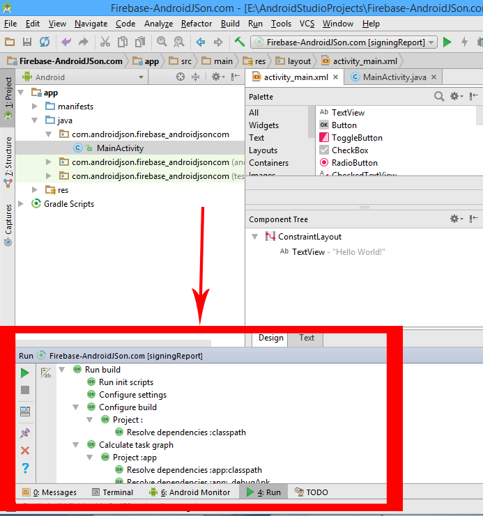 Get Generate SHA1 MD5 Key Certificate from Android Studio in